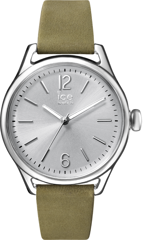 ICE Time_Khaki Silver_S
