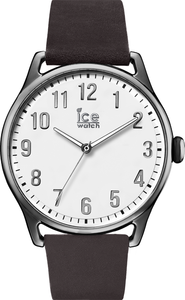 ICE Time_DarkBrown White_L