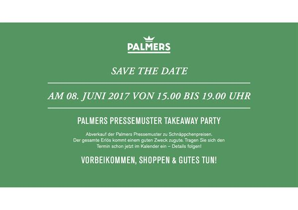 PALMERS Sample-Sale Save the Date