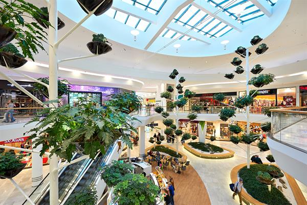 Garden Plaza in der Shopping City Süd