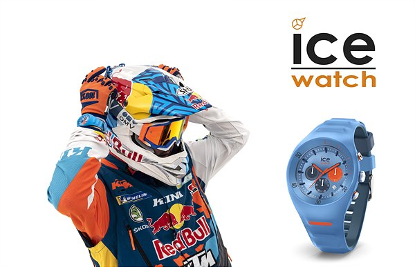 Matthias Walkner mit Ice Watch | Pierre Leclercq