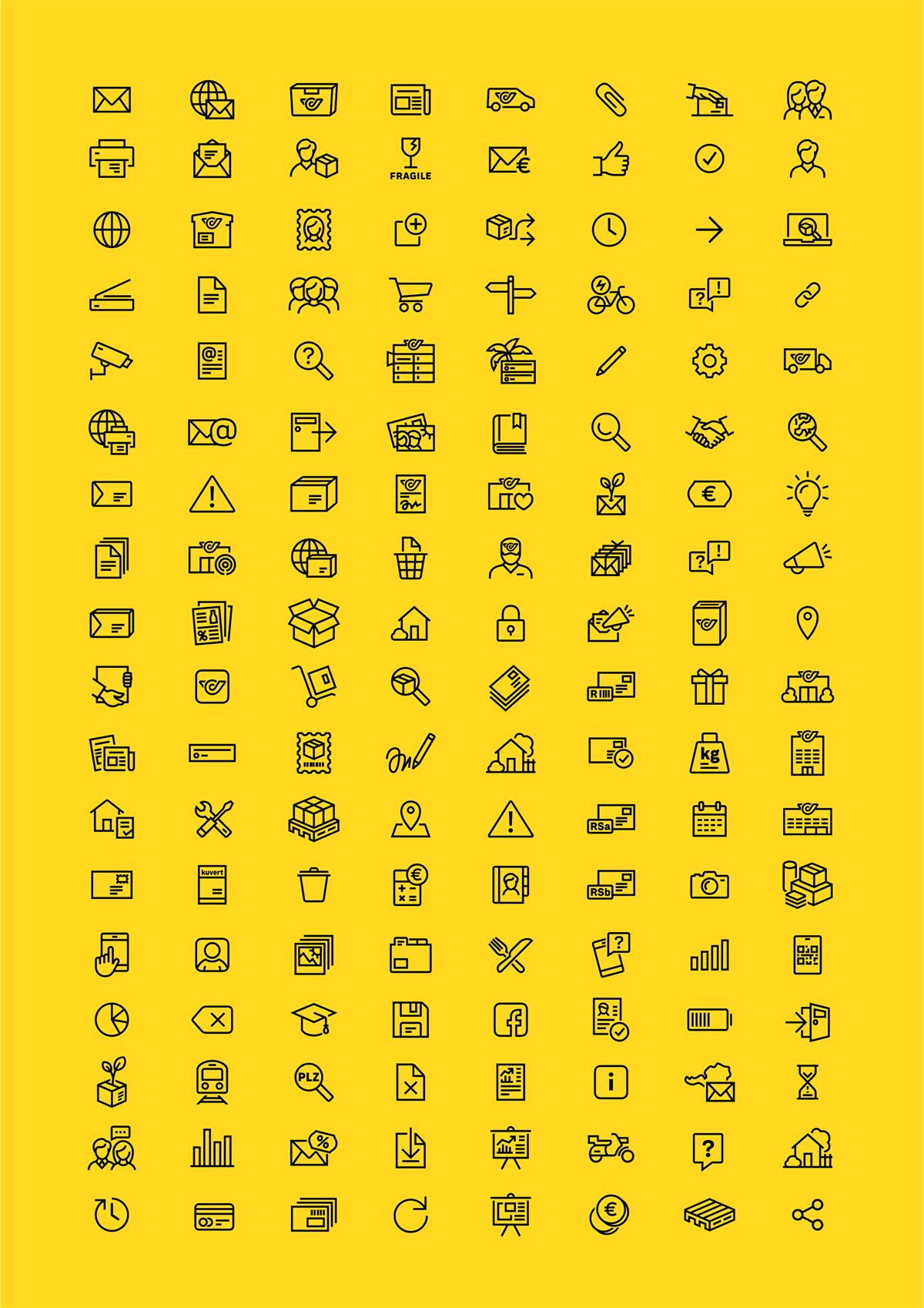 Post im neuen Look_Icons