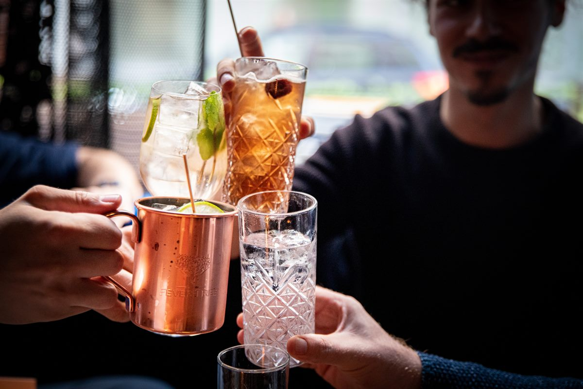 Prickelndes Afterwork: Fever-Tree und Diageo luden zum Highball Afternoon in die Hammond Bar