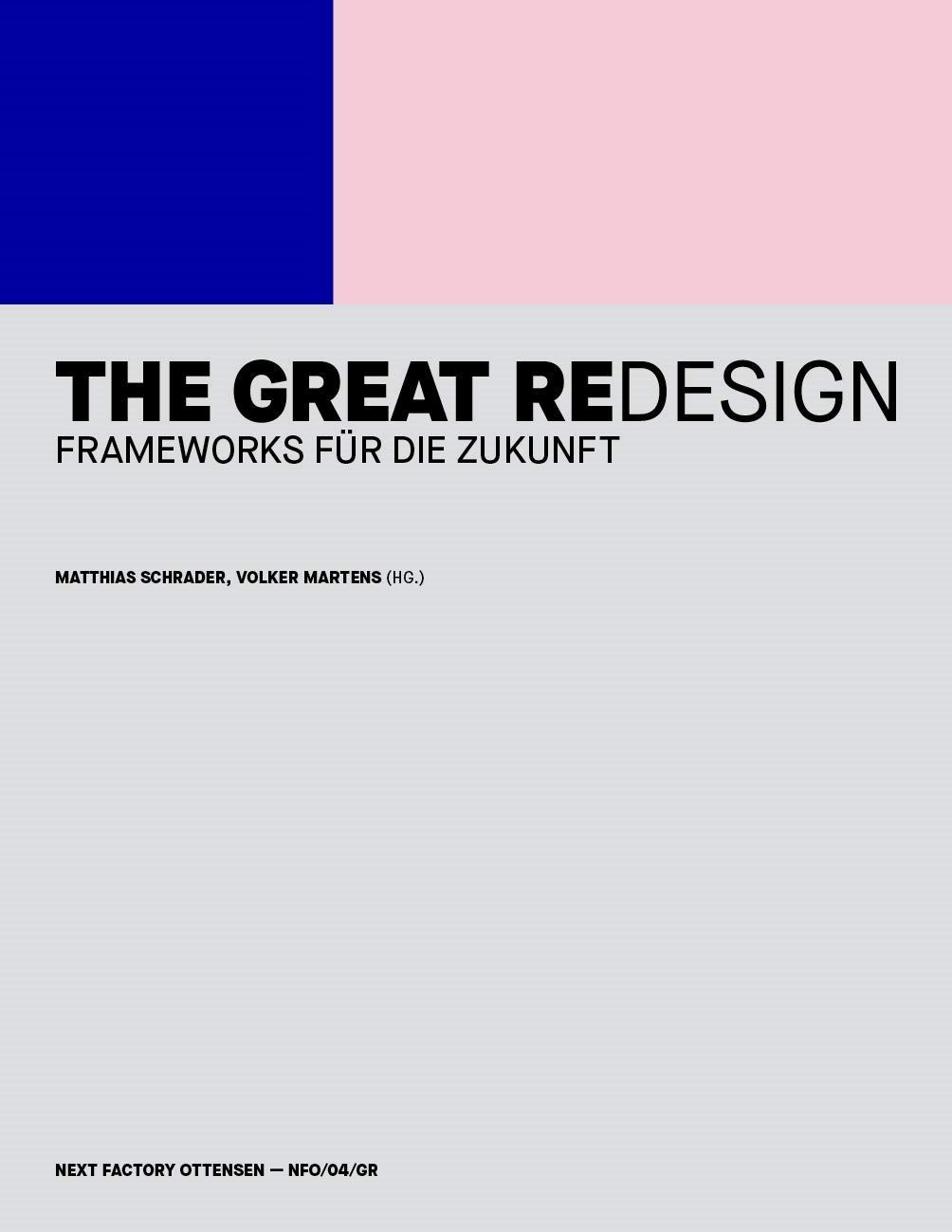 Buch Cover - The Great Redesign
